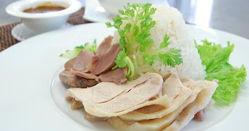 カーオ・マン・ガイ(カーオマンガイ)ข้าวมันไก่